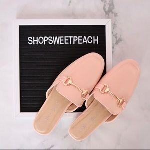 Shoes - Pink Flat Mule